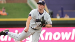 Erik Johnson became the Dash's ace after his promotion in July 2012 (Jody Stewart/W-S Dash).