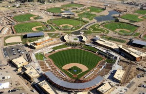 Camelback Ranch is almost open for business (Photo via TCPalm.com).