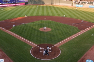 The Dash played 76 games on this beautiful field last year.