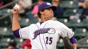 2011 and 2012 Dash alum Andre Rienzo no-hit the Indianapolis Indians last night (Steve Orcutt/W-S Dash).
