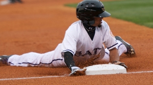 Billy Hamilton swiped two bases in last year's All-Star Game at BB&T Ballpark (Mike Stewart).