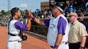 Tommy Thompson (middle) and the Dash did plenty of celebrating in 2012 (Steve Orcutt/W-S Dash).