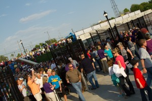 More than one million fans have visited BB&T Ballpark since it opened on April 13, 2010.