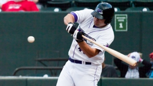 Dan Black is shining for Double-A Birmingham after a tremendous 2012 in the Triad (Steve Orcutt/W-S Dash).