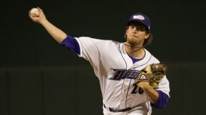 Daniel Webb started the year in Winston-Salem but now is coming out of the bullpen for Triple-A Charlotte (Jody Stewart/W-S Dash).
