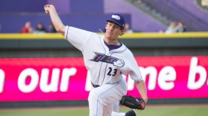 Chris Bassitt defeated the Hillcats on April 23 at BB&T Ballpark (Jody Stewart/W-S Dash).