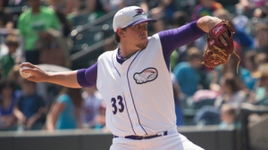 Chris Beck collected 11 wins with the Dash before today's promotion to Double-A (Jody Stewart/W-S Dash).