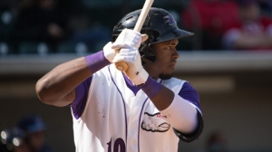 Courtney Hawkins is back in Winston-Salem's lineup Sunday (Jody Stewart/W-S Dash).