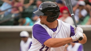 Brent Tanner hit his first career High-A home run in the 11th inning Thursday (Jody Stewart/W-S Dash).