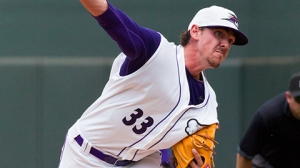 Chris Beck lost his only start against Myrtle Beach thus far this season (Steve Orcutt/W-S Dash).