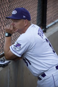 J.R. Perdew became a pitching coach after his four years in the Marines (Jody Stewart/W-S Dash).