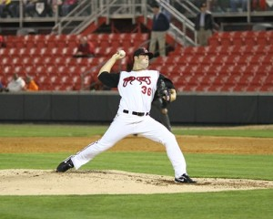Cody Anderson has been one of the top pitchers in the CL in 2013 (indyweek.com).