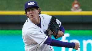 Jake Cose's August efforts have been the best in the minors (Laura Marshall/W-S Dash).