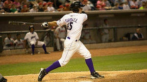 Jeremy Farrell's RBI double gave the Dash their fifth straight win Friday (Jody Stewart/W-S Dash).