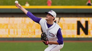 Myles Jaye will try to pitch Winston-Salem to a series win Thursday (Steve Orcutt/W-S Dash).