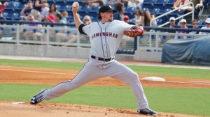 Chris Beck and the Barons are one win away from a title (John Shadrick/Birmingham Barons).