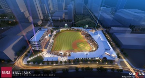 A second BB&T Ballpark opens in April of 2014 in Charlotte.