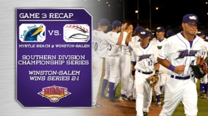Myrtle Beach has lost in round one in their last three playoff trips, including to the Dash in 2012 (Steve Orcutt/W-S Dash).