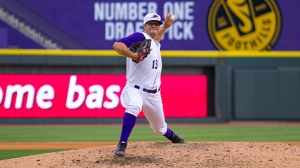 Jarrett Casey struck out 11 in eight innings with Winston-Salem in 2014 (Erik Weasenforth/W-S Dash).
