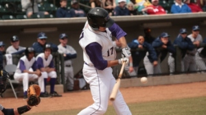 Jason Coats went 7-for-14 in the Dash's three-game set at Salem (Jody Stewart/W-S Dash).