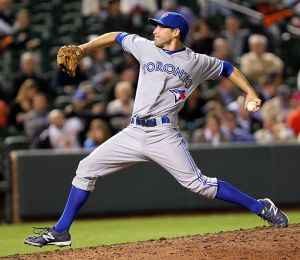 New Dash hurler Evan Crawford made 10 appearances with Toronto in 2012 (Keith Allison via Wikipedia).