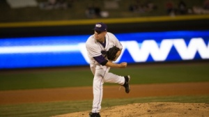 Brad Goldberg takes to the hill for his second career professional start (Jody Stewart/W-S Dash).