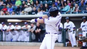 Justin Jirschele extended his hitting streak to nine games on Friday. (Jody Stewart/W-S Dash)