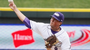 Bryan Blough picked up four saves before heading to Double-A Birmingham (Laura Marshall/W-S Dash).