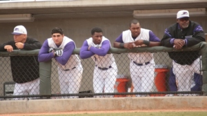 For the first time this season, the Dash spent some extra time in the dugout on Wednesday afternoon (Jody Stewart/W-S Dash).