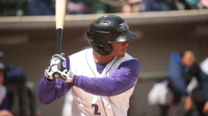 Jacob May is back in the leadoff spot for the Dash on Sunday (Jody Stewart/W-S Dash).