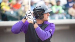 Nick Basto had two hits and a run scored on Wednesday. (Jody Stewart/W-S Dash)