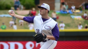 Tyler Danish has allowed two earned runs during his last three starts. (Jody Stewart/W-S Dash)