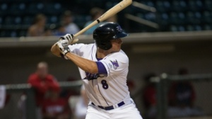 Michael Marjama fell a home run shy of the cycle Monday night. (Jody Stewart/W-S Dash)