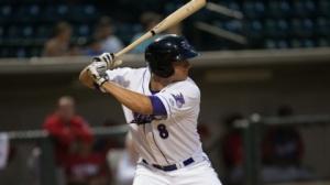 Michael Marjama fell a home run shy of the cycle Monday night. (Jody Stewart/W-S Dash)
