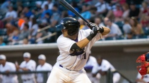 Omar Narvaez is hitting .323 since joining the Dash last month. (Jody Stewart/W-S Dash)
