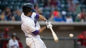 Nick Basto scored a career-high four runs in Thursday's game. (Jody Stewart/W-S Dash)