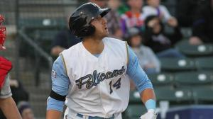 Joey Gallo drove in 50 runs in 58 games with Myrtle Beach in 2014. (Robert Gurganus/Myrtle Beach Pelicans)