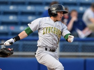 Outfielder Kyle Wren was a Midseason All-Star for the Hillcats last year, but was traded to the Brewers in the offseason. (Photo courtesy of Baseball America.)