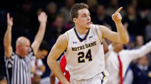 Pat Connaughton is a Notre Dame basketball player and a Baltimore Orioles farmhand (Michael Hickey/Getty Images).
