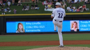 James Dykstra's sterling effort Wednesday helped give the Dash a series win versus Carolina (Jody Stewart/W-S Dash).