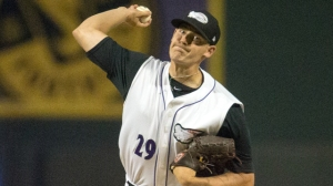 Zach Isler earned a two-inning save in Friday's 3-2 Dash victory at Myrtle Beach (Jody Stewart/W-S Dash).