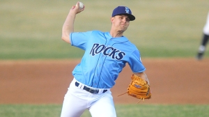 Christian Winford was the Royals' Minor League Pitcher of the Year in 2014. (Brad Glazier/MiLB.com)