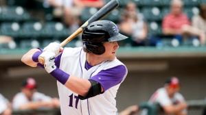 Trey Michalczewski earned the Carolina League Player of the Week. (Jody Stewart/W-S Dash)