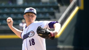 James Dykstra comes off the DL Sunday to make his first start since May 8. (Jody Stewart/W-S Dash)
