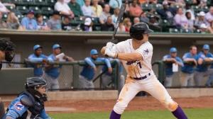 Adam Engel's two-run homer Tuesday broke a ninth-inning tie. (Jody Stewart/W-S Dash)