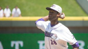 Jose Brito worked 2.1 innings of relief Monday to earn his second win. (Jody Stewart/W-S Dash)