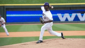 Robinson Leyer starts Friday for the Dash in Lynchburg. (Jody Stewart/W-S Dash)