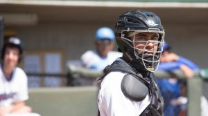 Omar Narvaez has started 48 of the Dash's 65 games behind the plate. (Jody Stewart/W-S Dash)