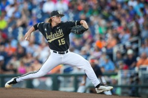 Carson Fulmer was selected eighth overall in the 2015 MLB Draft by the White Sox. (Rebecca S. Gratz/The World Herald)