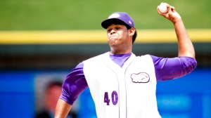 Jefferson Olacio struck out the side in the eighth inning of Monday's contest. (Jody Stewart/W-S Dash)